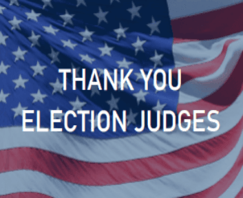 Thank You Election Judges