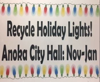 Holiday Lights Sign