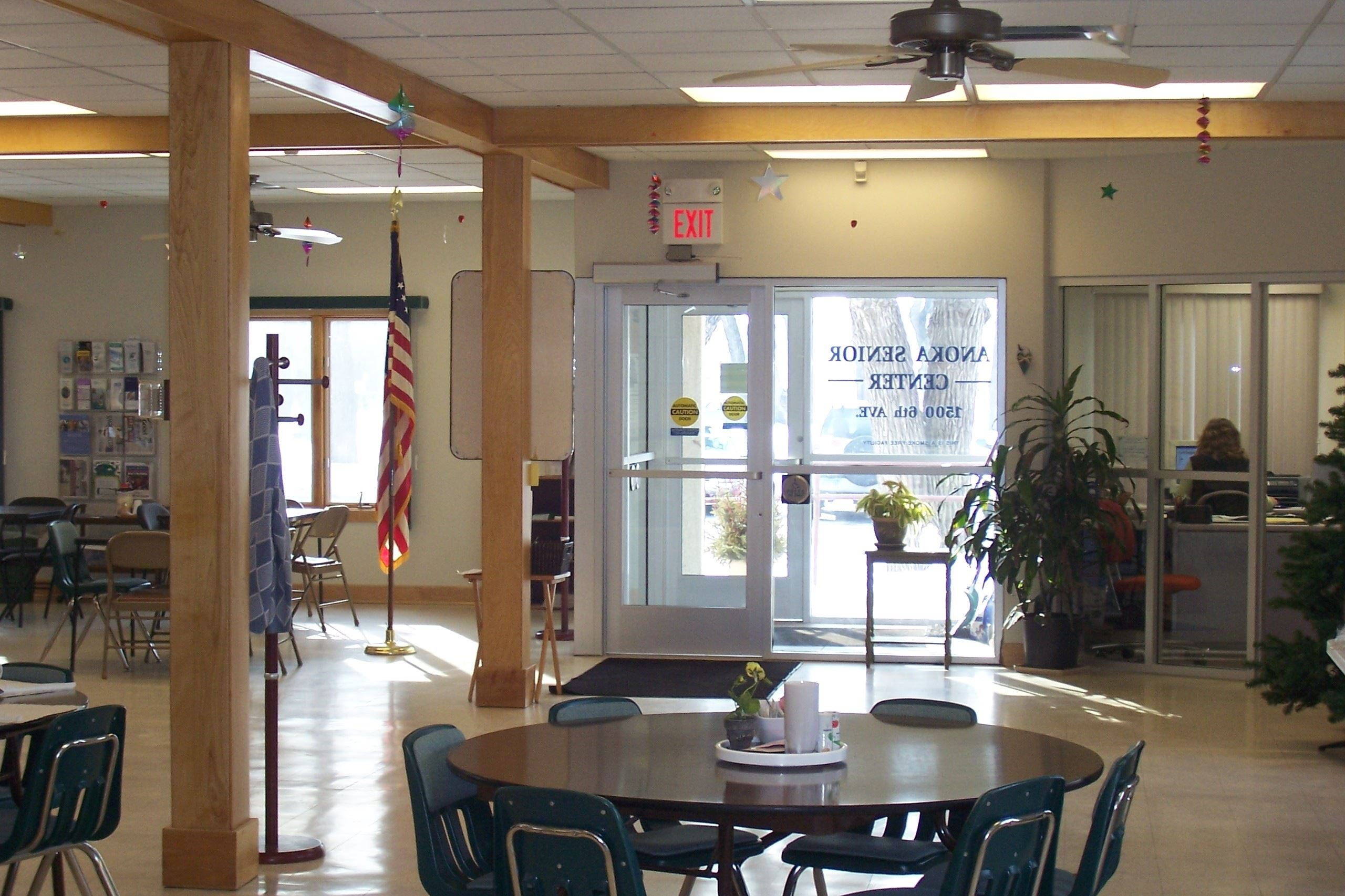 Interior of Senior Center